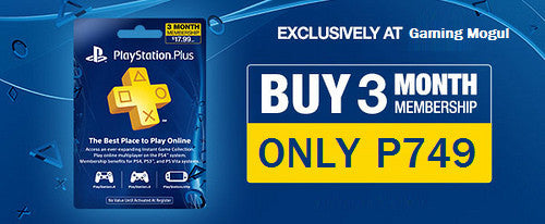 Get 3 Months PS Plus for P749