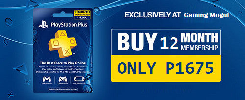 Get 12 Months PS Plus for P1675
