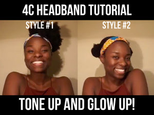 Adekanmi Headband Tutorial