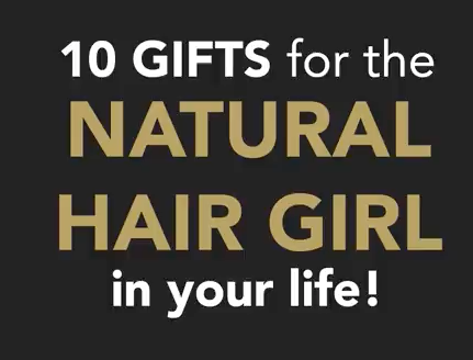 Top Gift Ideas for Naturalistas with @ebenabeauty!