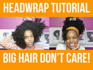 Sanaa Head wrap tutorial