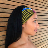 Abrihet Headband -  Accessories > African headband > Multicolor headband > Ankara > Handmade custom > Colorful headband > Headband for girls > Headband for women > African print headband >Ankara headband - Aṣọ Dára