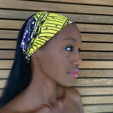 Aisha (Remix) Headband -  Accessories > African headband > Multicolor headband > Ankara > Handmade custom > Colorful headband > Headband for girls > Headband for women > African print headband >Ankara headband - Aṣọ Dára