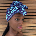 Bejide Half Head Wrap -  Accessories > African head wrap > Multicolor headwrap > Ankara wrap > Custom headwraps > African bandeau > Bandeaus > Colorful head wrap > Head wrap for girls > Head wrap for women - Aṣọ Dára