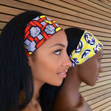 Dayo Headband -  Accessories > African headband > Multicolor headband > Ankara > Handmade custom > Colorful headband > Headband for girls > Headband for women > African print headband >Ankara headband - Aṣọ Dára