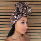 Mbali Half Head Wrap -  Accessories > African head wrap > Multicolor headwrap > Ankara wrap > Custom headwraps > African bandeau > Bandeaus > Colorful head wrap > Head wrap for girls > Head wrap for women - Aṣọ Dára