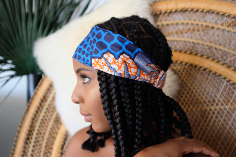 Ayansola Headband -  Accessories > African headband > Multicolor headband > Ankara > Handmade custom > Colorful headband > Headband for girls > Headband for women > African print headband >Ankara headband - Aṣọ Dára