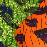 Fayola Half Head Wrap -  Accessories > African head wrap > Multicolor headwrap > Ankara wrap > Custom headwraps > African bandeau > Bandeaus > Colorful head wrap > Head wrap for girls > Head wrap for women - Aṣọ Dára