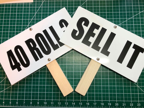 "The ""SELL IT"" Sign"