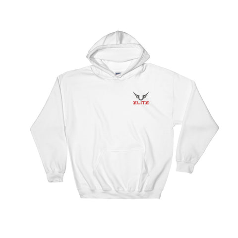 ELITE Team Embroidered Hoodies [Black/White/Grey]