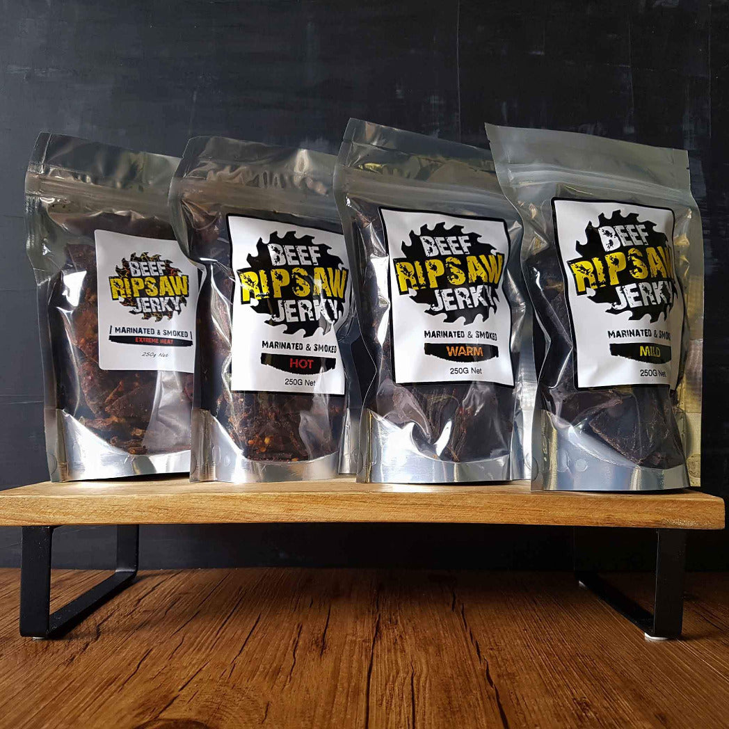 Our Flavours of Beef Jerky