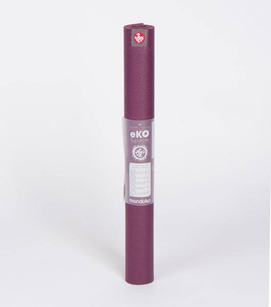 "Manduka eKO® Superlite Travel Yoga Mat 1.5mm 68"" - Acai"