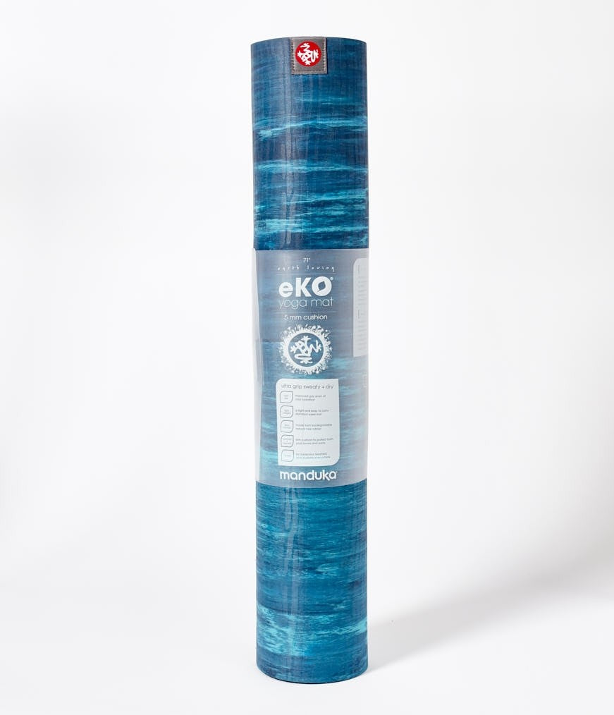 Manduka eKO® Yoga Mat 5mm (Limited Edition) - Pacific Blue - Marbled