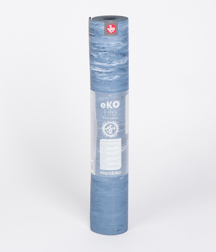"Manduka eKO® Lite Yoga Mat 4mm 68"" (Limited Edition) - Ebb - Marble"