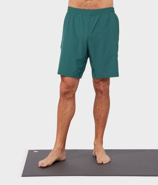 Manduka Apparel - Men's Lunge Short - Deep Surf