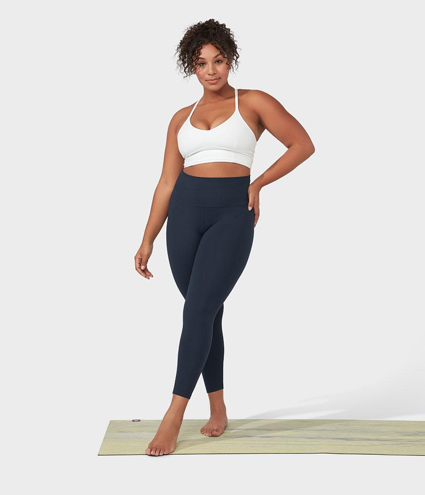 Manduka Apparel - Women's Foundation Legging - Navy