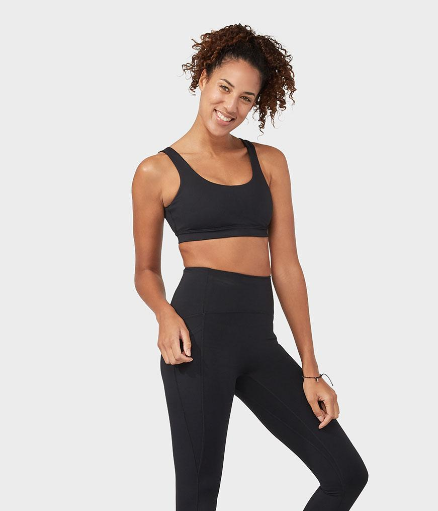 Manduka Apparel - Women's Presence Bra - Black
