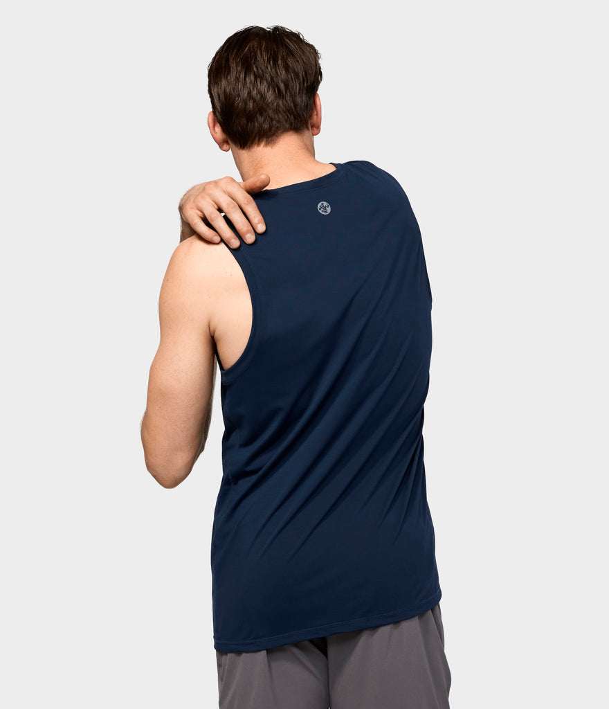 Manduka Apparel - Men's Cross Train Tank 01 - Midnight