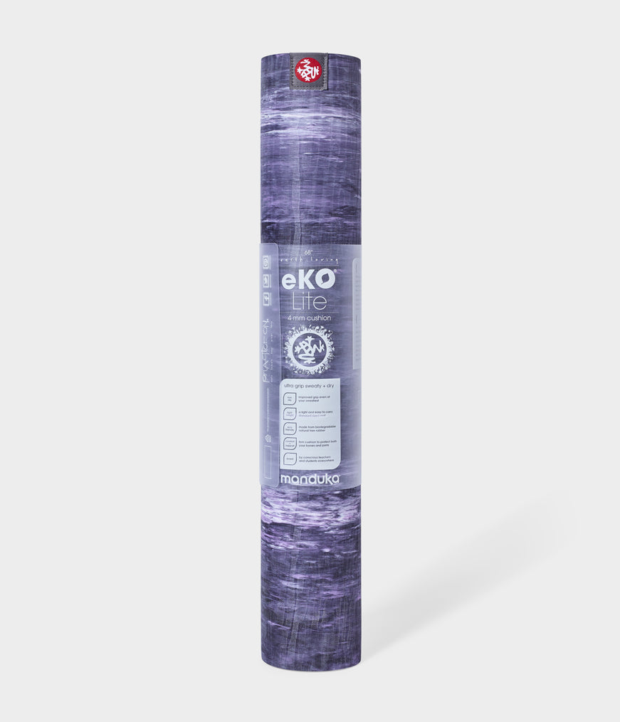 "Manduka eKO® Lite Yoga Mat 4mm 68"" (Limited Edition) - Hyacinth - Marbled"