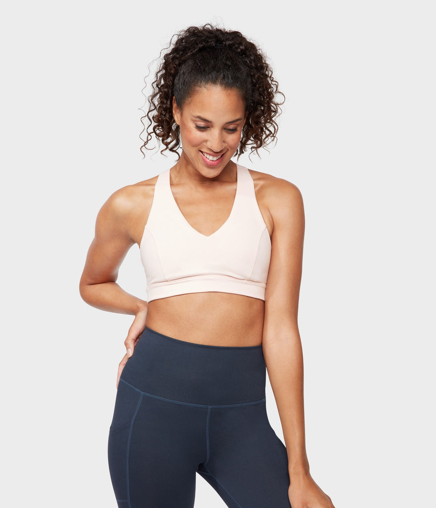 Manduka Apparel - Women's Mudra Bra - Blush