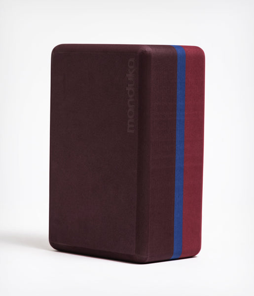 Manduka Recycled Foam Yoga Block (Limited Edition) - Port 3-tone
