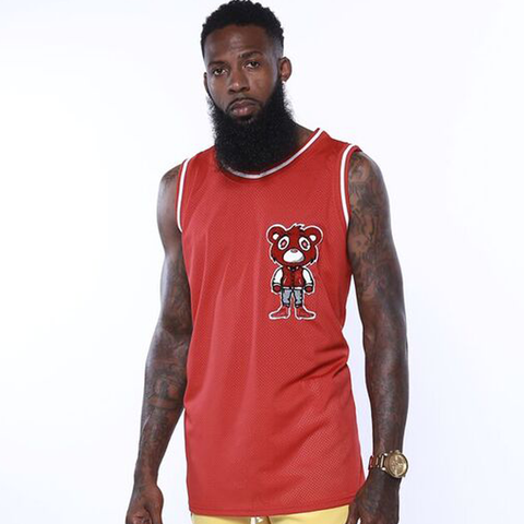 HB Varsity Bear Basketball Jersey