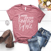 "SALE ""Be Known for your Kindness & Grace"" Ladies Dusty Rose Unisex Crewneck T-Shirt"