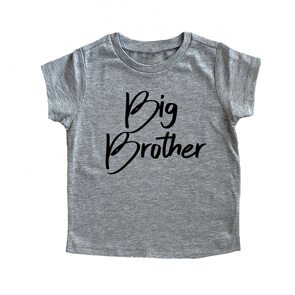 """Big Brother"" Grey Child T-Shirt"