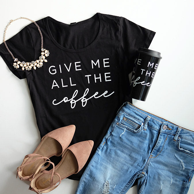 """Give me all the coffee"" Travel Mug"