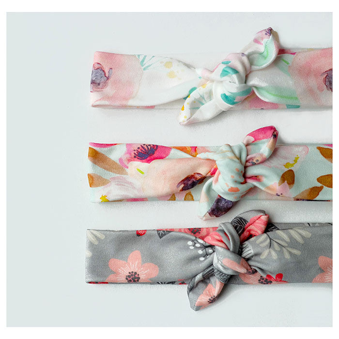 Pick ONE Organic Floral Top Knot Headband