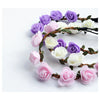 Flower Crown Headband - Purple