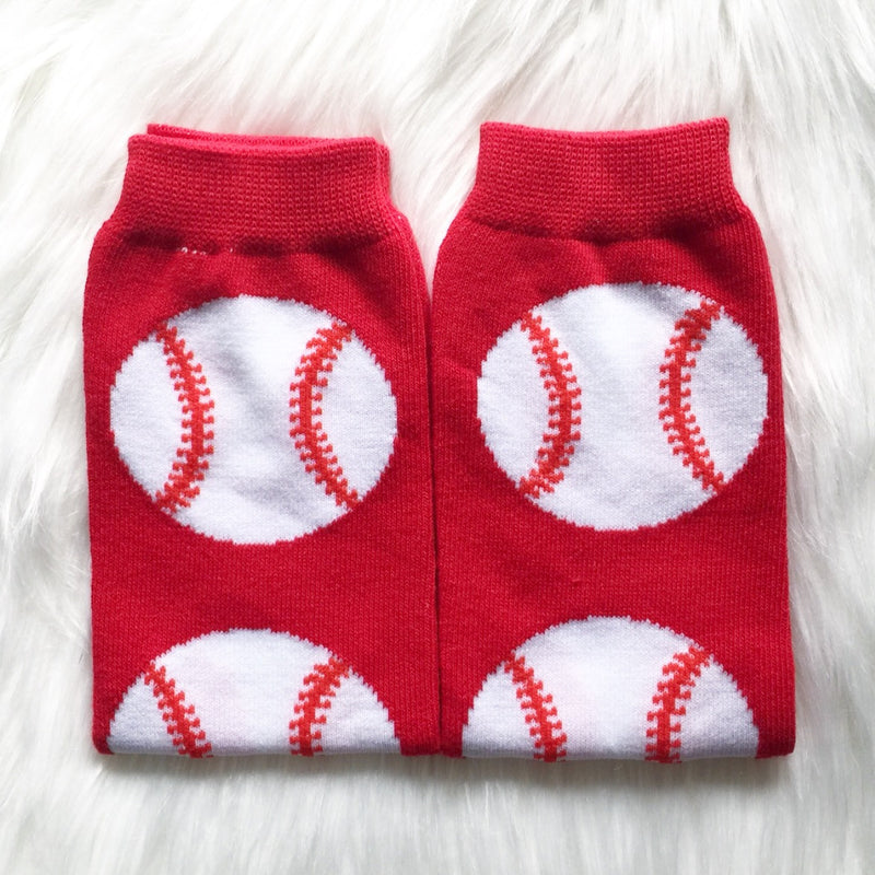 SALE Baseball Fan Leg Warmers