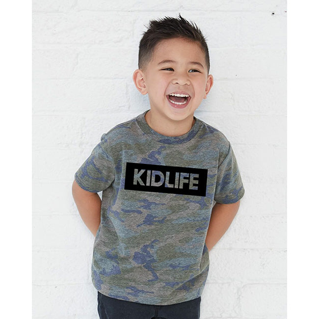 """KIDLIFE"" Camo Child T-Shirt"