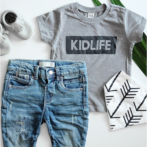 """Kidlife"" Grey Child T-Shirt"