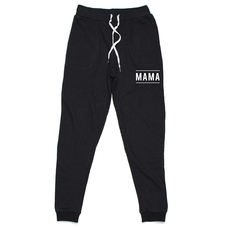 """Mama"" Jogger Sweatpants - Size Small Only"