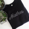 SALE Mother - Ladies Black Crewneck Sweatshirt