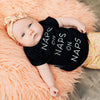 "SALE ""Naps on Naps on Naps"" Black Child T-Shirt"