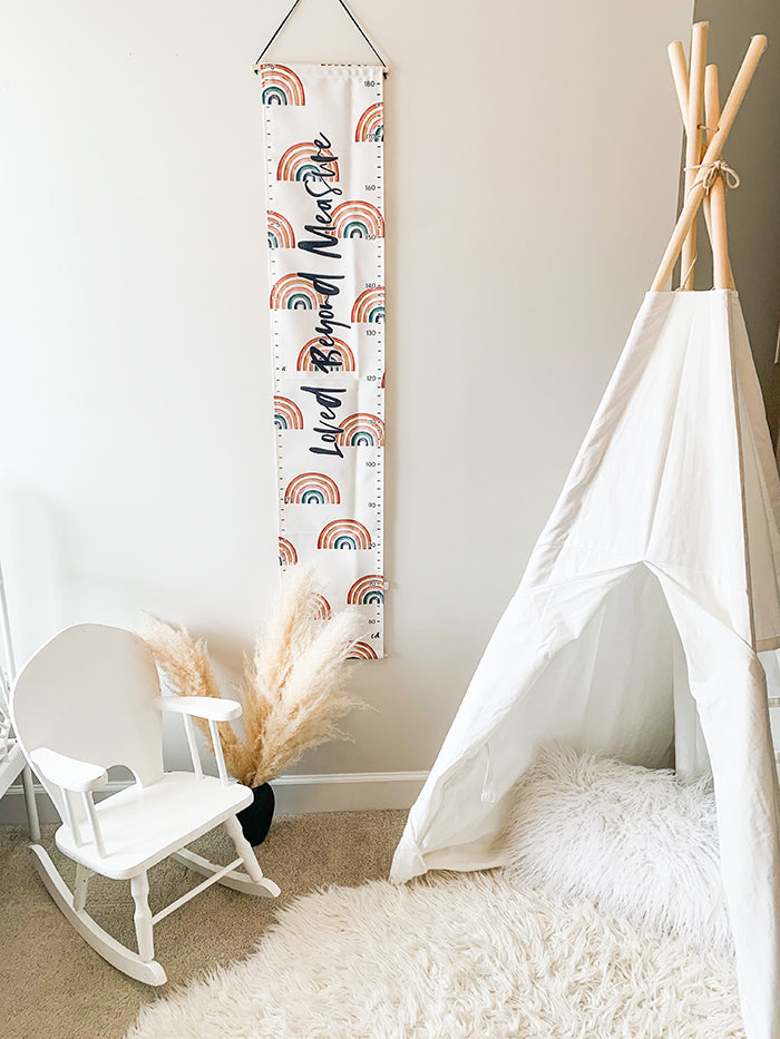Rainbows Growth Chart - Loved Beyond Measure
