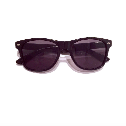 Black Wayfarer Child Sunglasses