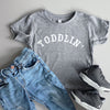 """Toddlin'"" Child T-Shirt Triblend Grey - Size 6"
