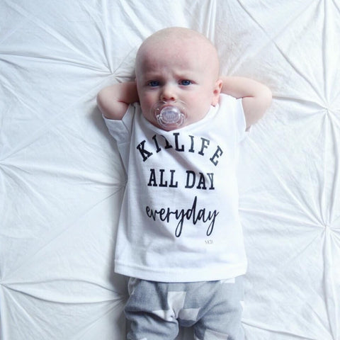 """Kid Life All Day Everyday"" Child Tee"