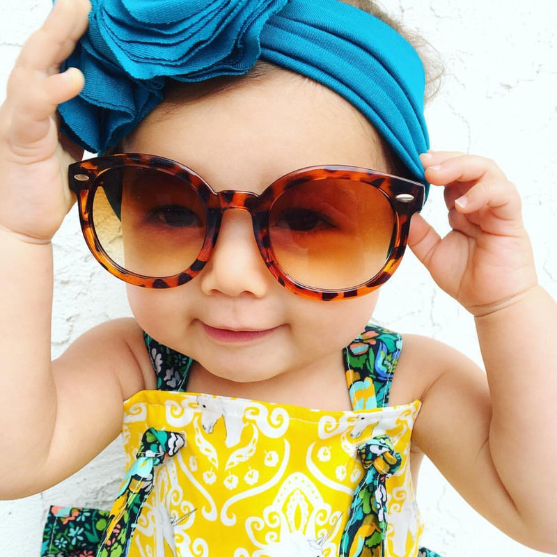 Leopard Child Sunglasses