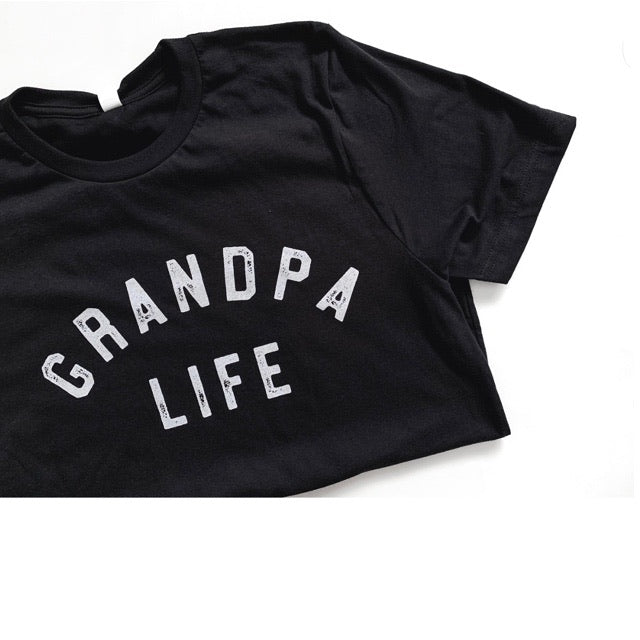 """Grandpa Life"" Adult Mens Tee - Choose from 3 Colour Options"