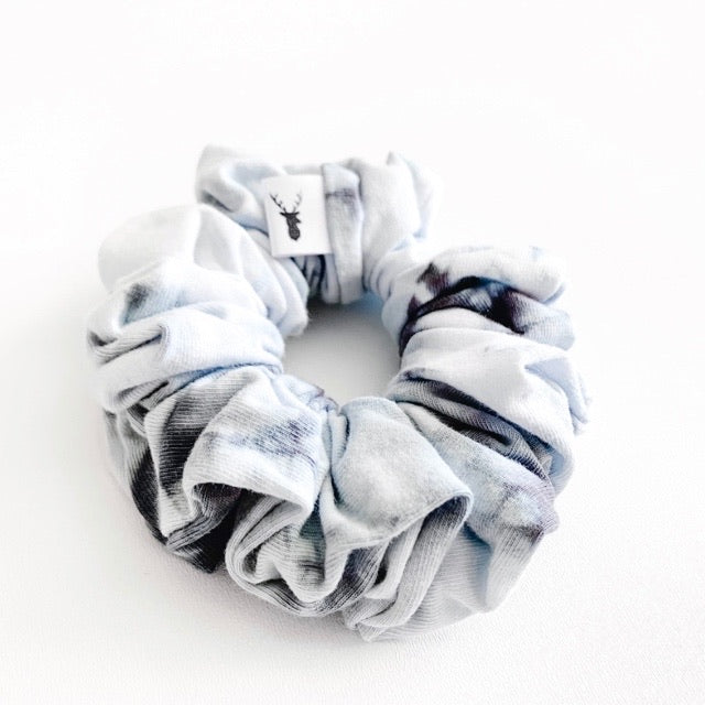 Storm Grey Tie Dye Scrunchie
