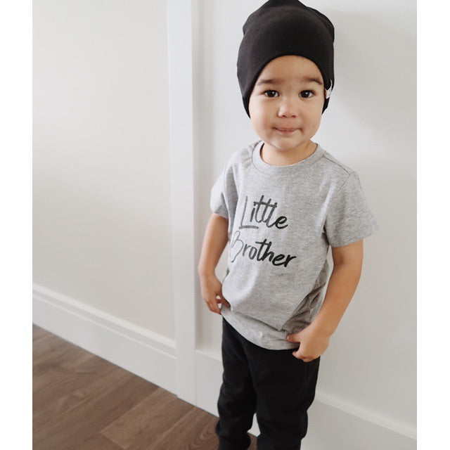 """Little Brother"" Grey Child T-Shirt"
