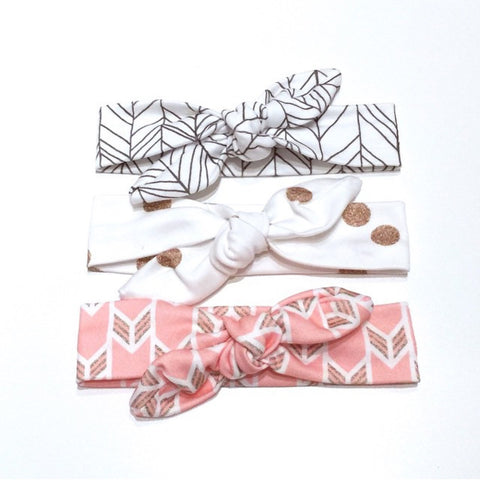 3 PC Combo - Organic Top Knot Headbands