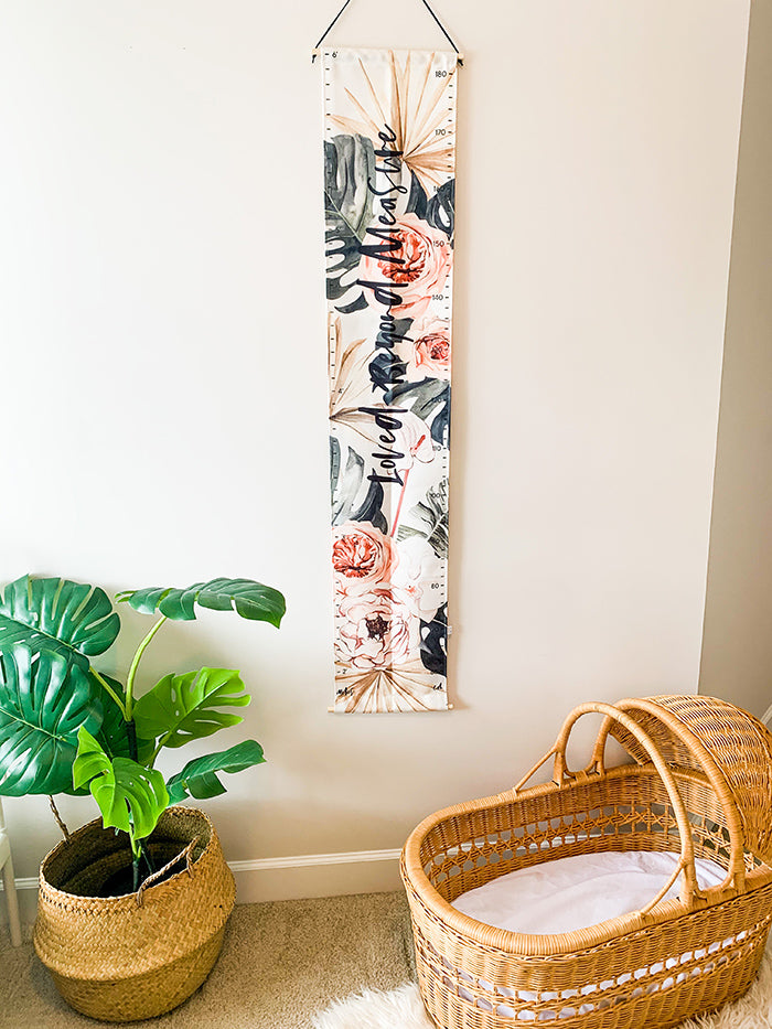 Tropical Growth Chart - Loved Beyond Measure