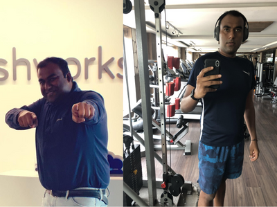 Inactive to athletic - Nivas' inspiring story on how fitness changed his life.