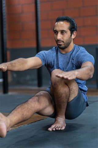 some regular stretching can keep muscles long, lean, and flexible