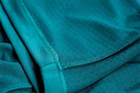 Silver ions in activewear clothes prevents odors before they are produced
